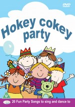 hokey cokey party dvd cover